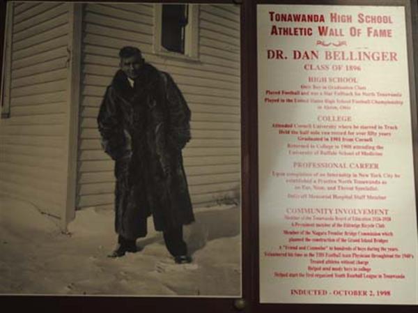 Photo of Dr. Dan Bellinger, Class of 1896.