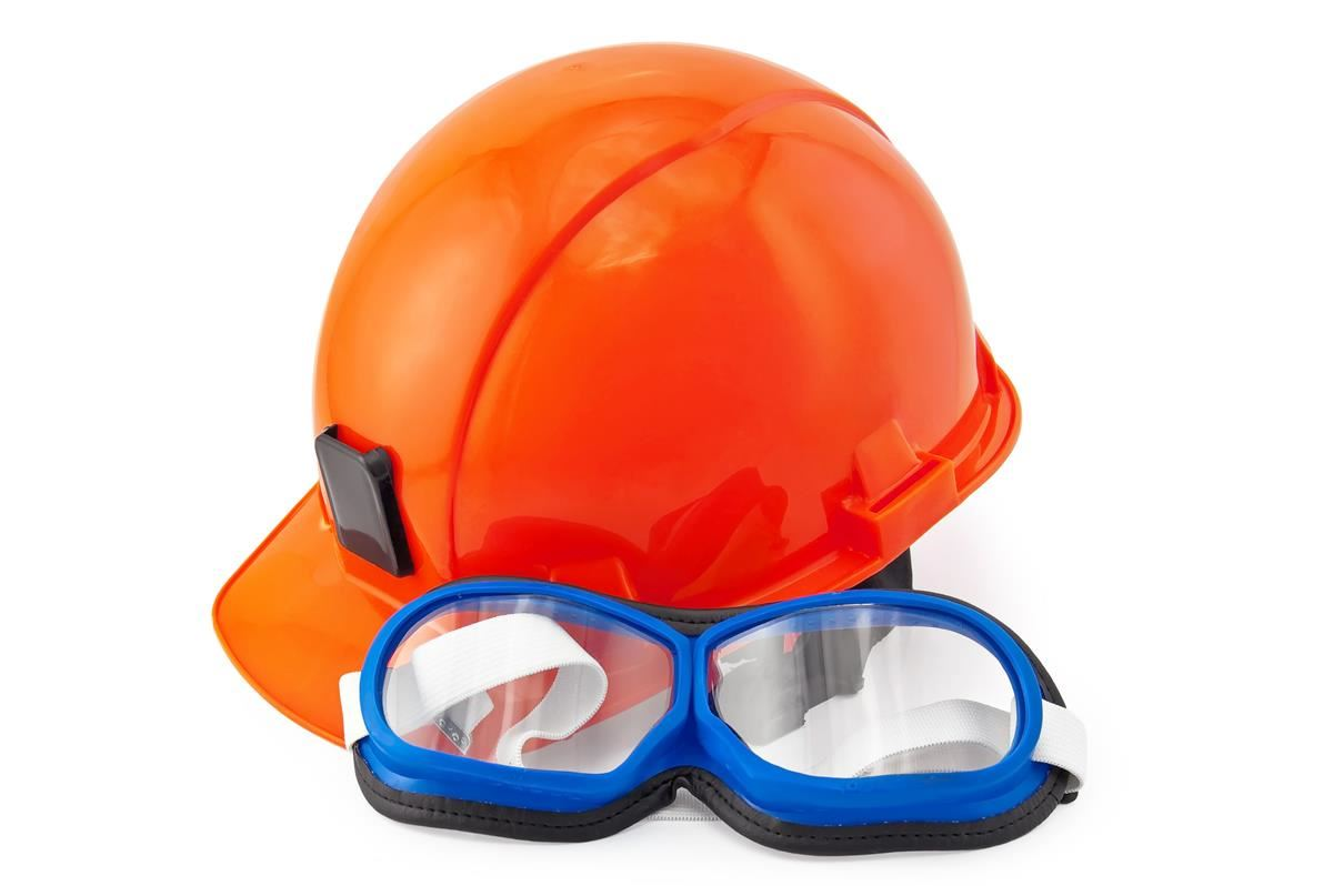 Picture of safety gear.