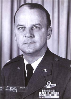 Photo of Lt. Col. Frank J. Bubb.