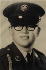 Photo of PFC Burt Dalke.
