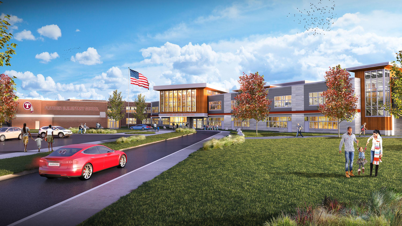 Future Fletcher building rendering