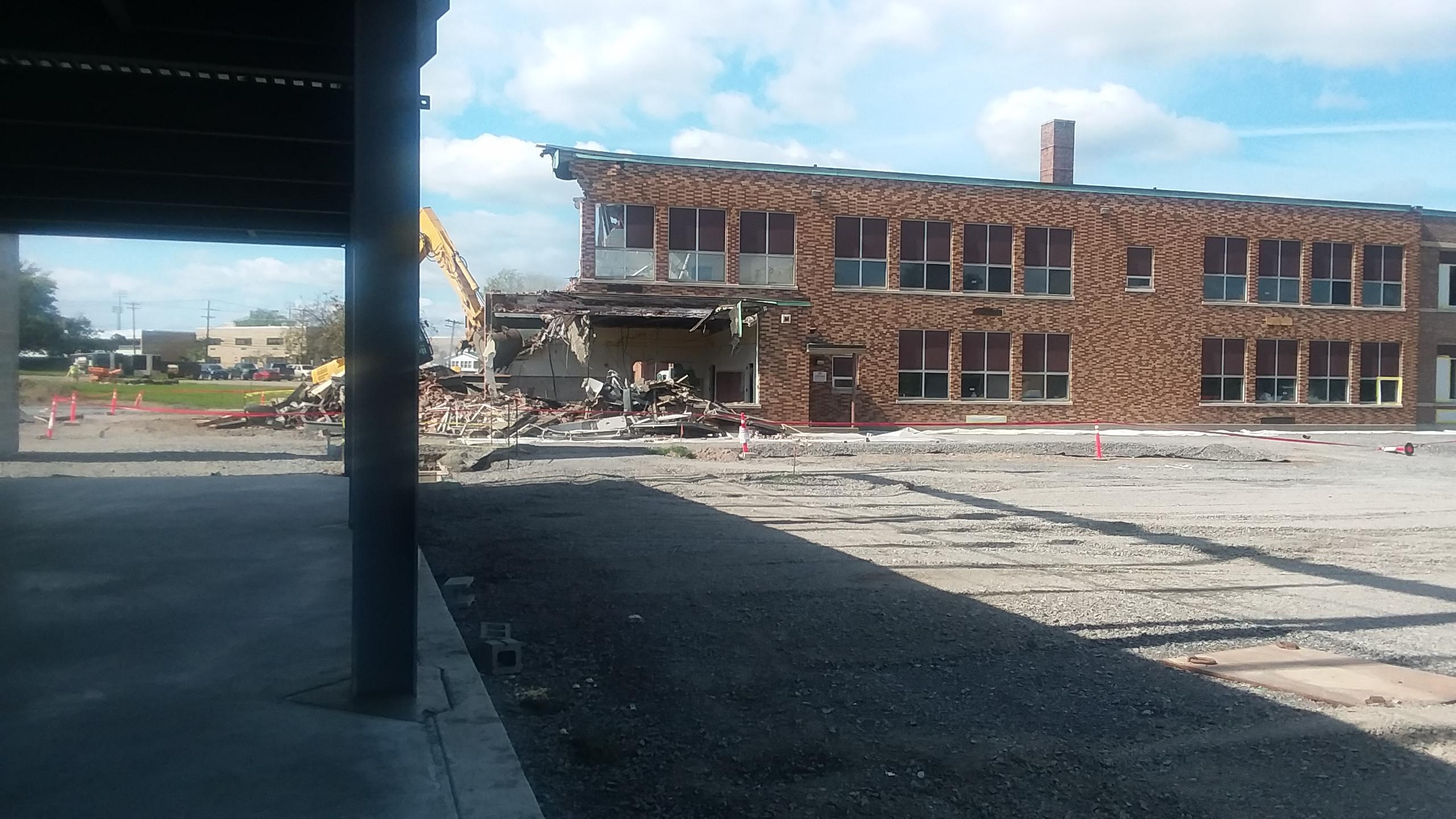 Fletcher demolition photos