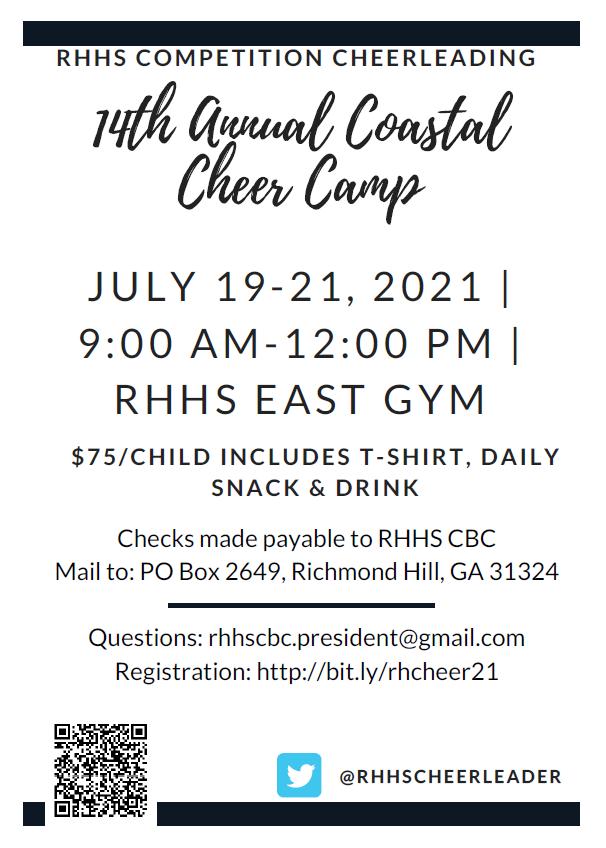 Cheer Camp Info