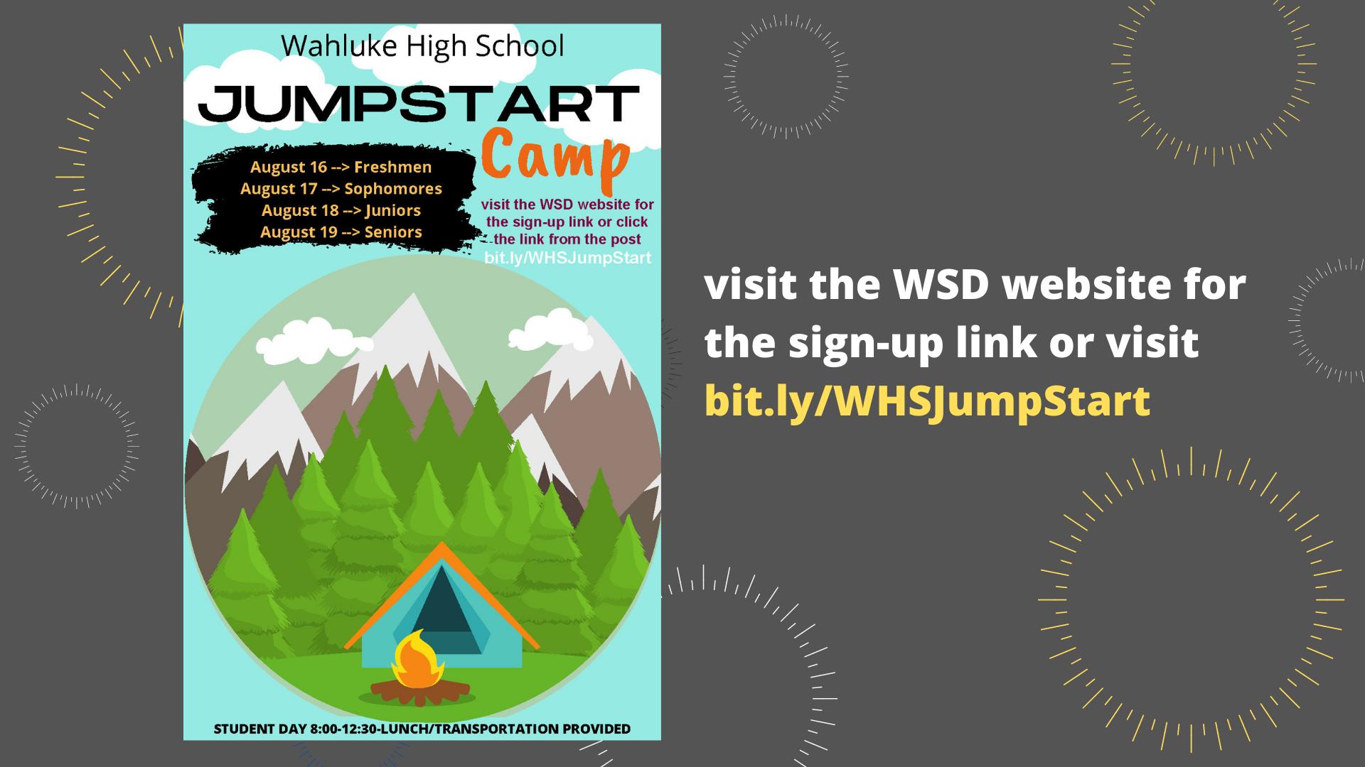 WHS Jump Start