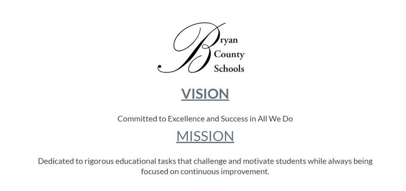 vision: Committed to excellence and success in all we do. Mission: Dedicated to rigorous educational tasks that challenge and motivate students while always being focused on continuous improvement