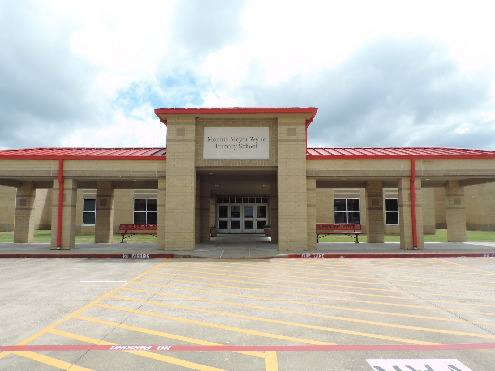Wylie Primary School Front