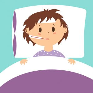 GUIDELINES FOR KEEPING A SICK CHILD AT HOME