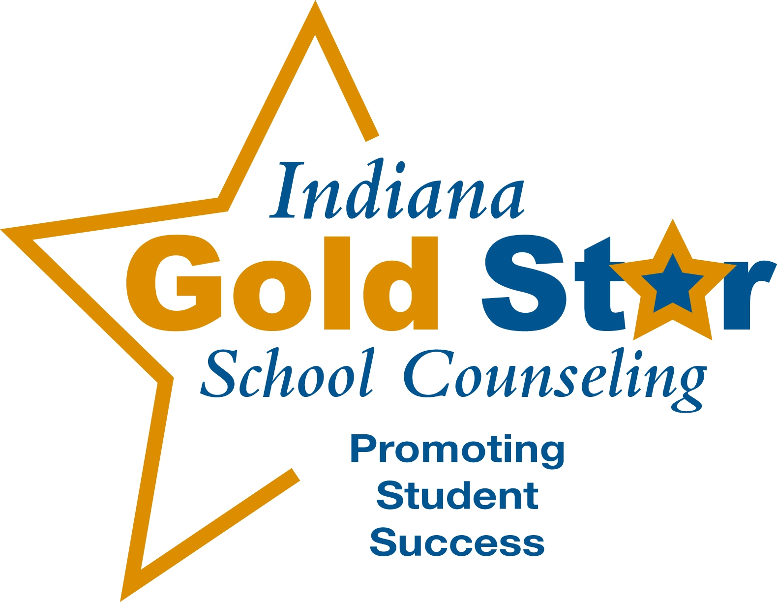 Indiana Gold Star School Counseling logo