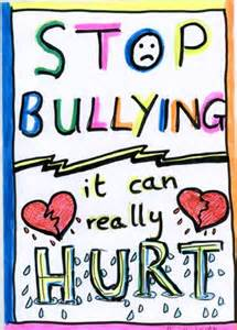 Stop Bullying. It can really hurt.