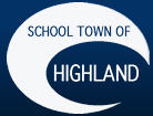 School town of highland logo