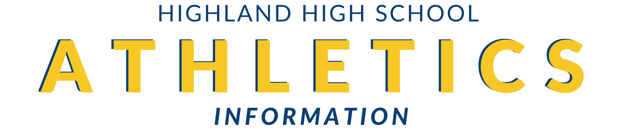 Highland High School Athletics Information