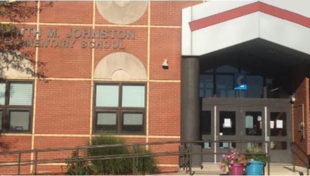 Johnston school main entrance