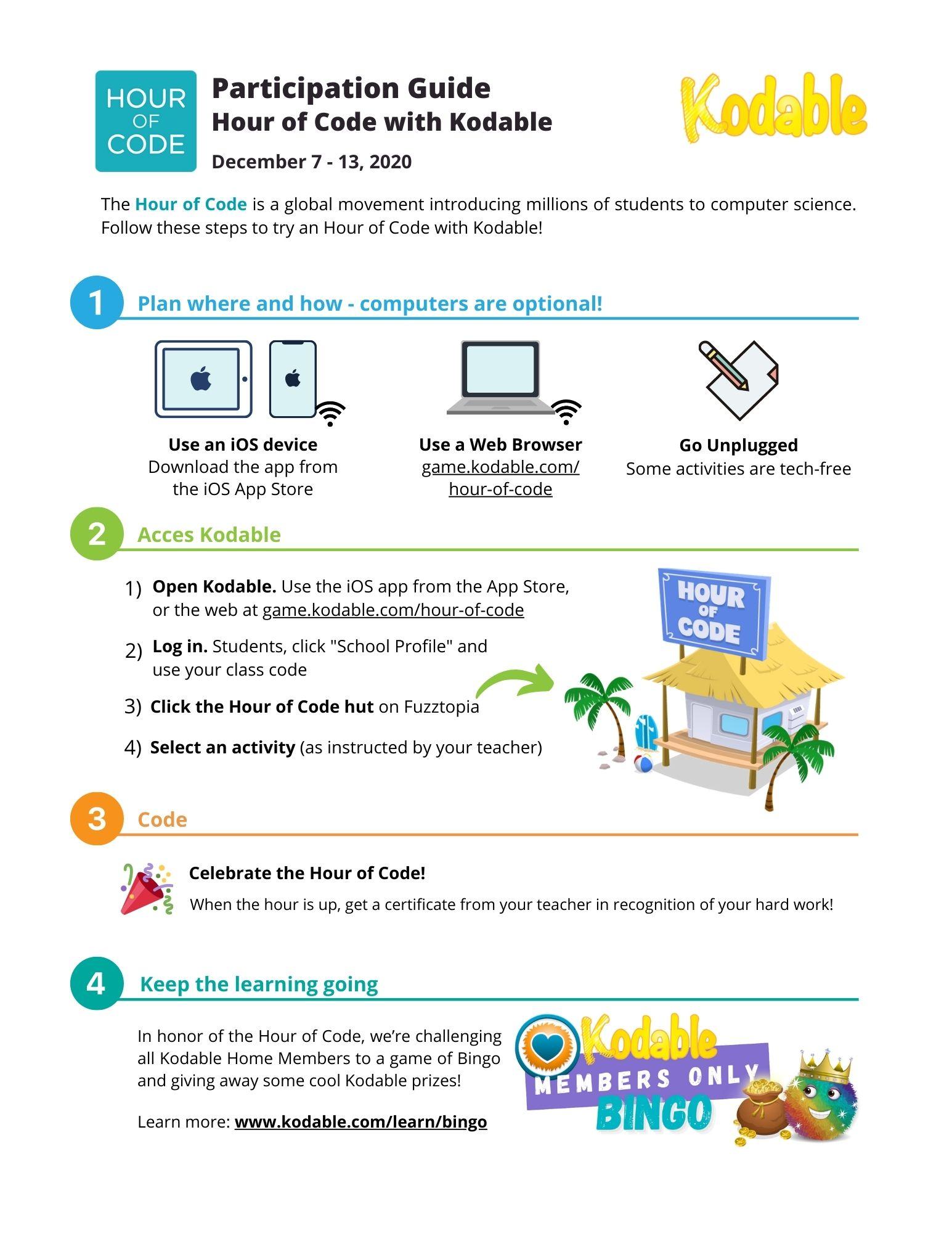 Participation guide