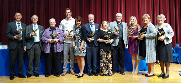 2018 Aberdeen Central High School Hall of Fame Inductees