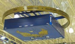 Daktronics Scoreboards in Golden Eagles Arena