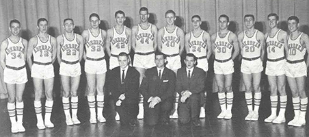 1961 Boys Basketball Team