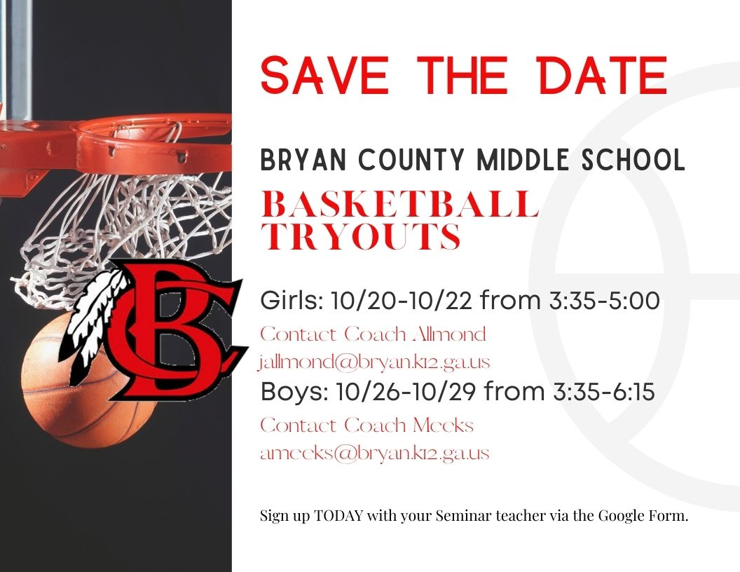 Basketball Try-Out Information