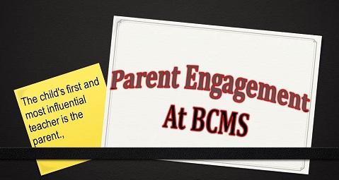 Parent Engagement at BCMS