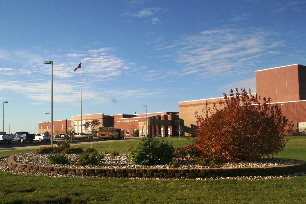 Front of Central High School