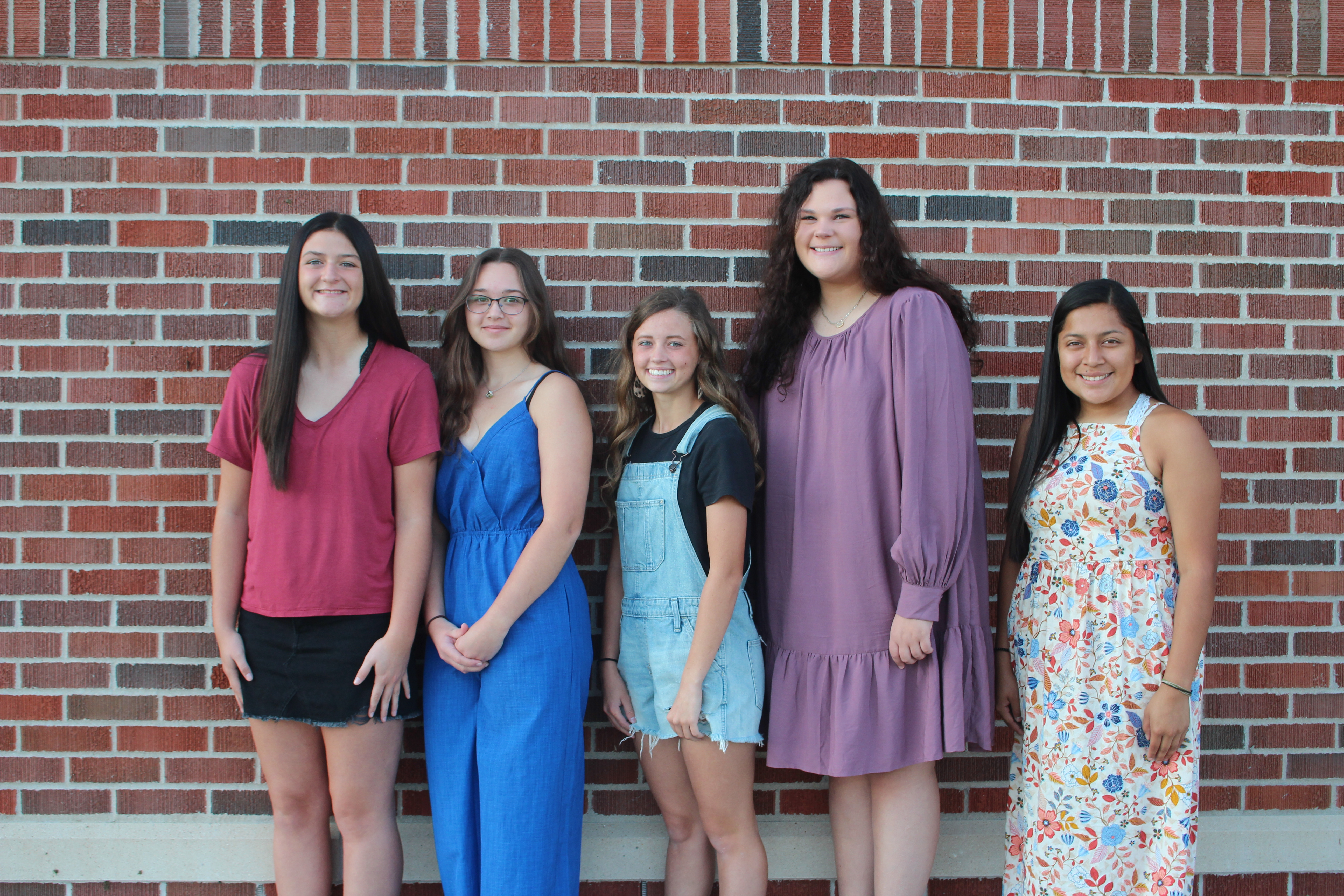 2021 Homecoming Queen Candidates