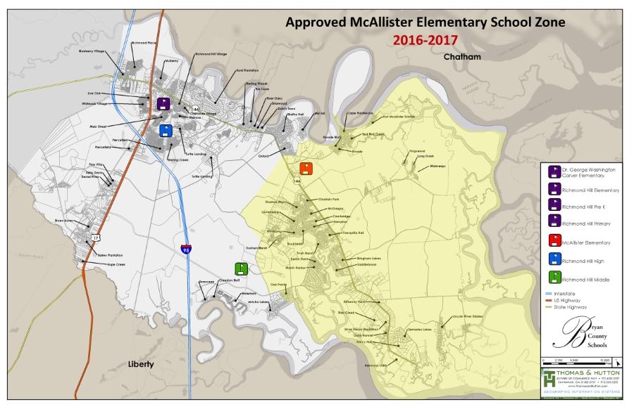 school attendance zones