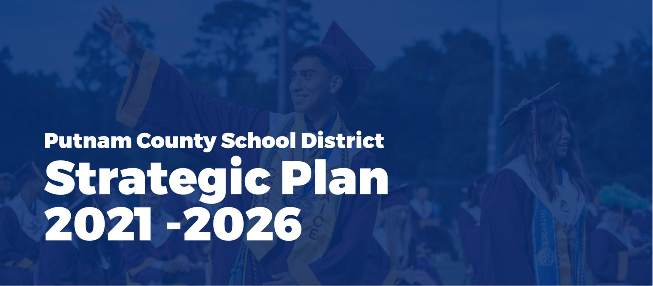 strategic plan 2021 2026 cover image smiling student
