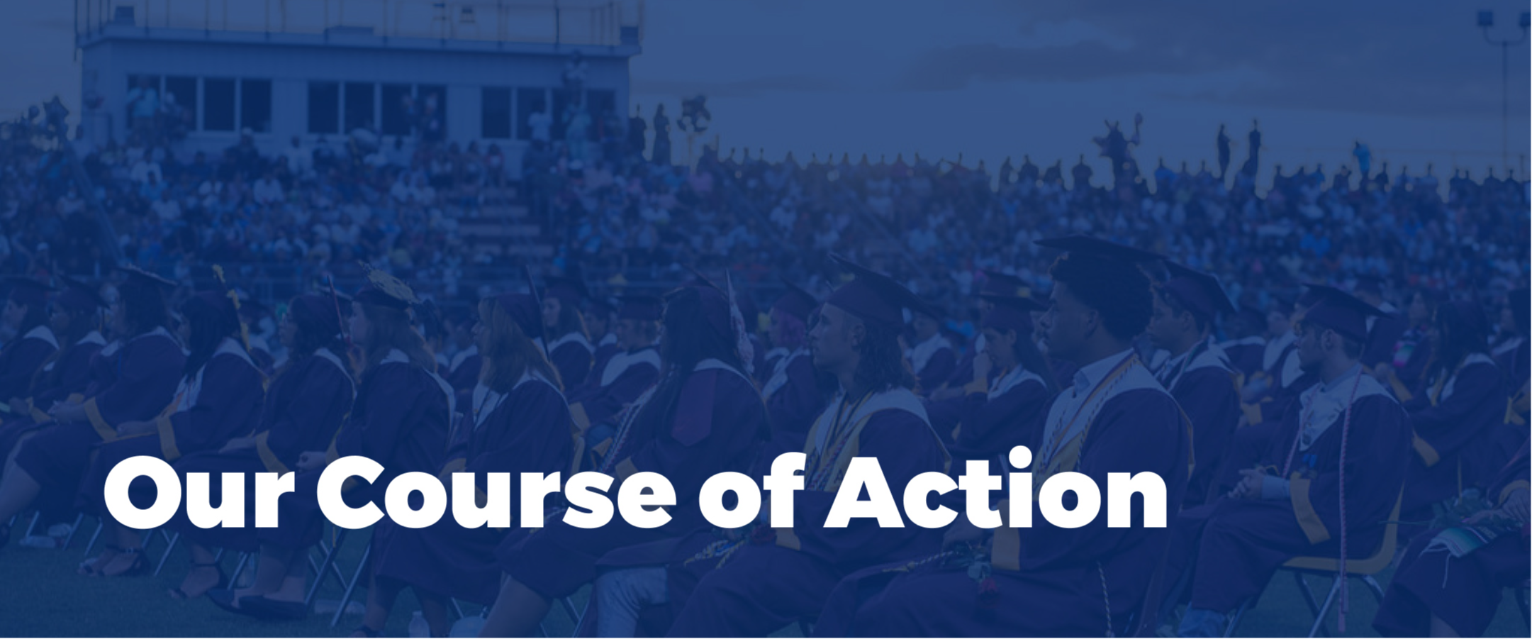 our course of action section cover image