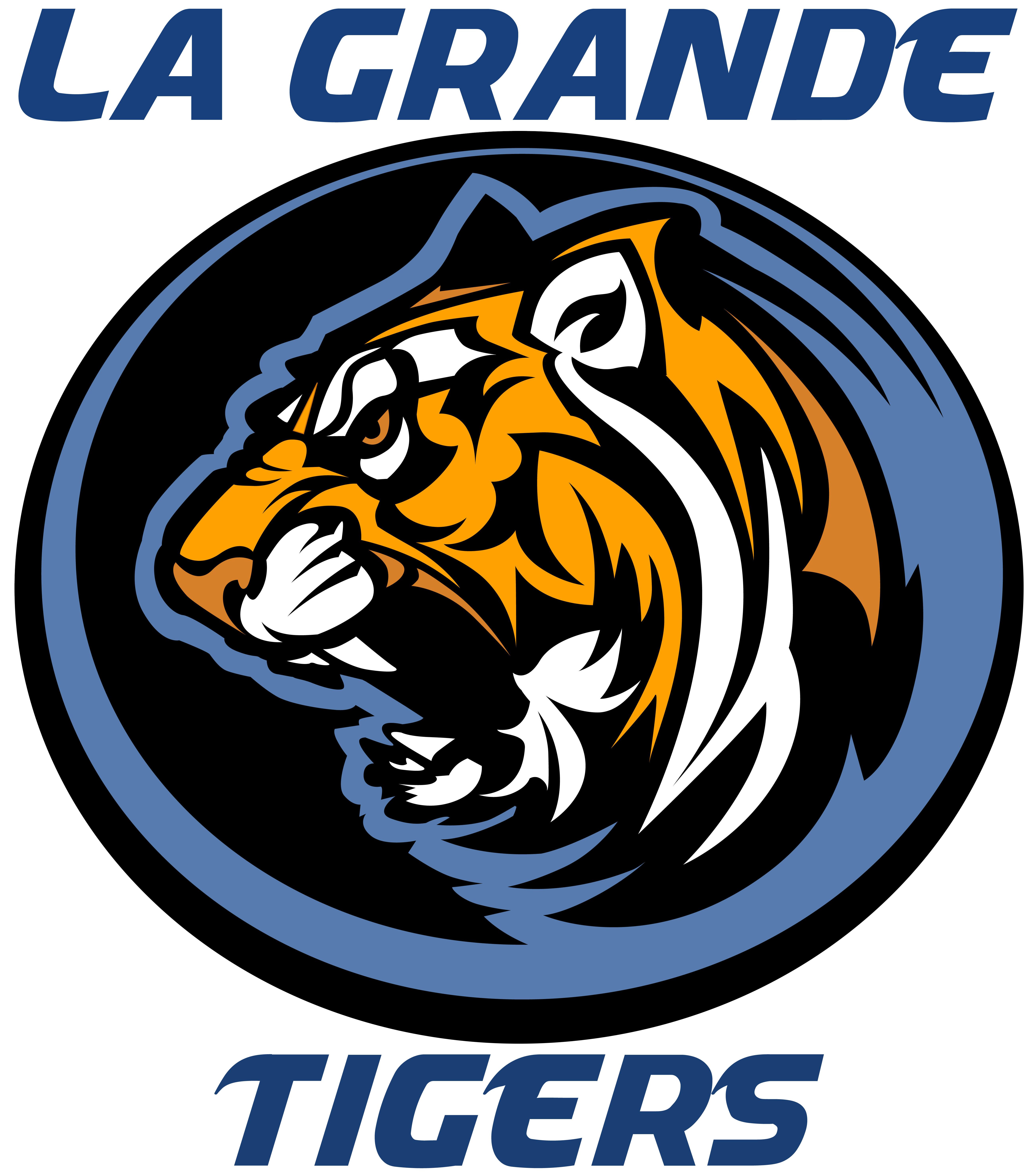 La Grande High School Tiger Logo