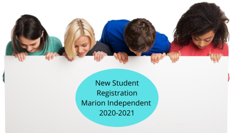 New Student Registration Marion Independent 2020-2021