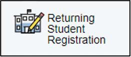 returning student registration