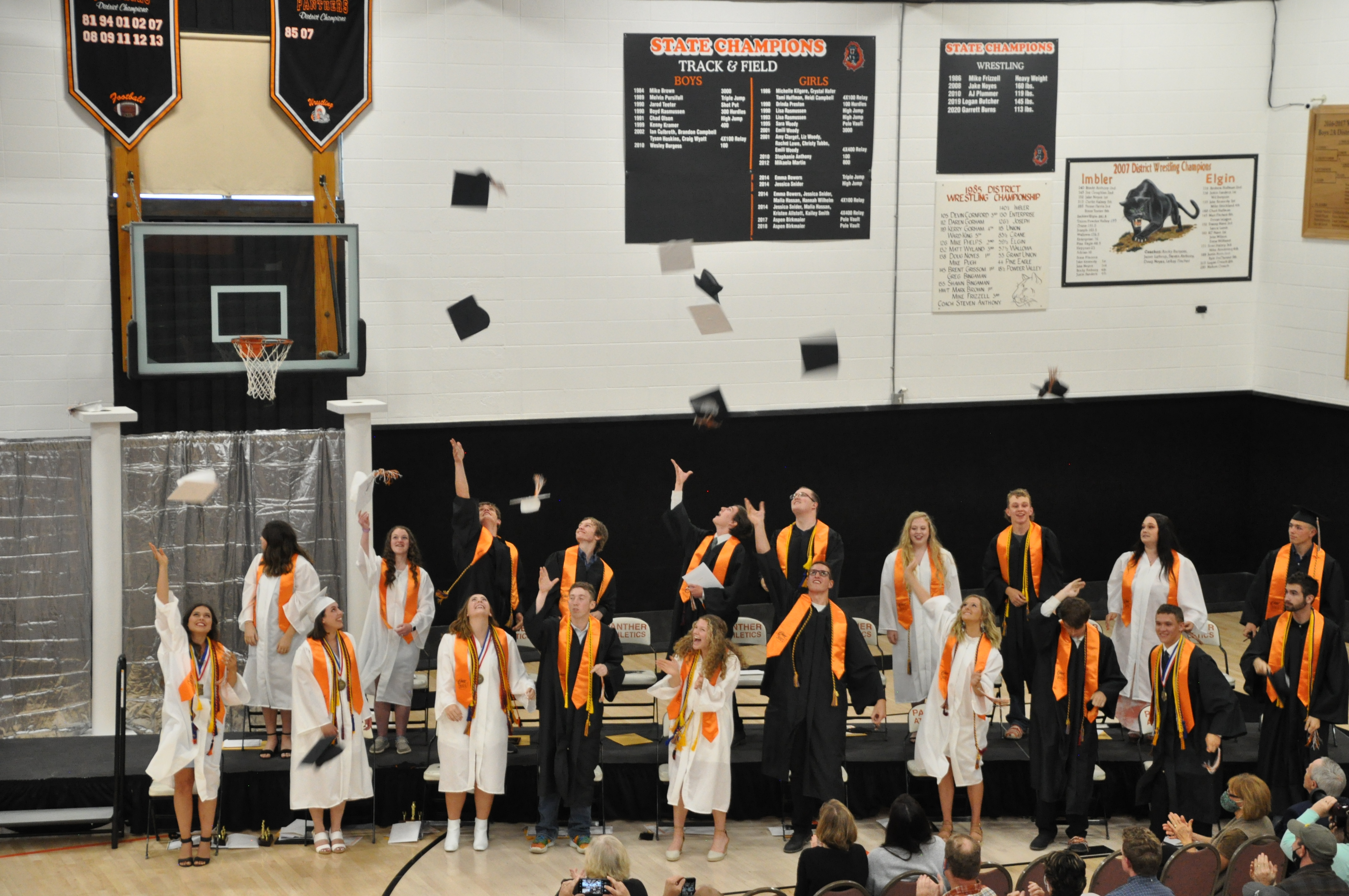 Graduation 2021 - Best of luck to our seniors!!