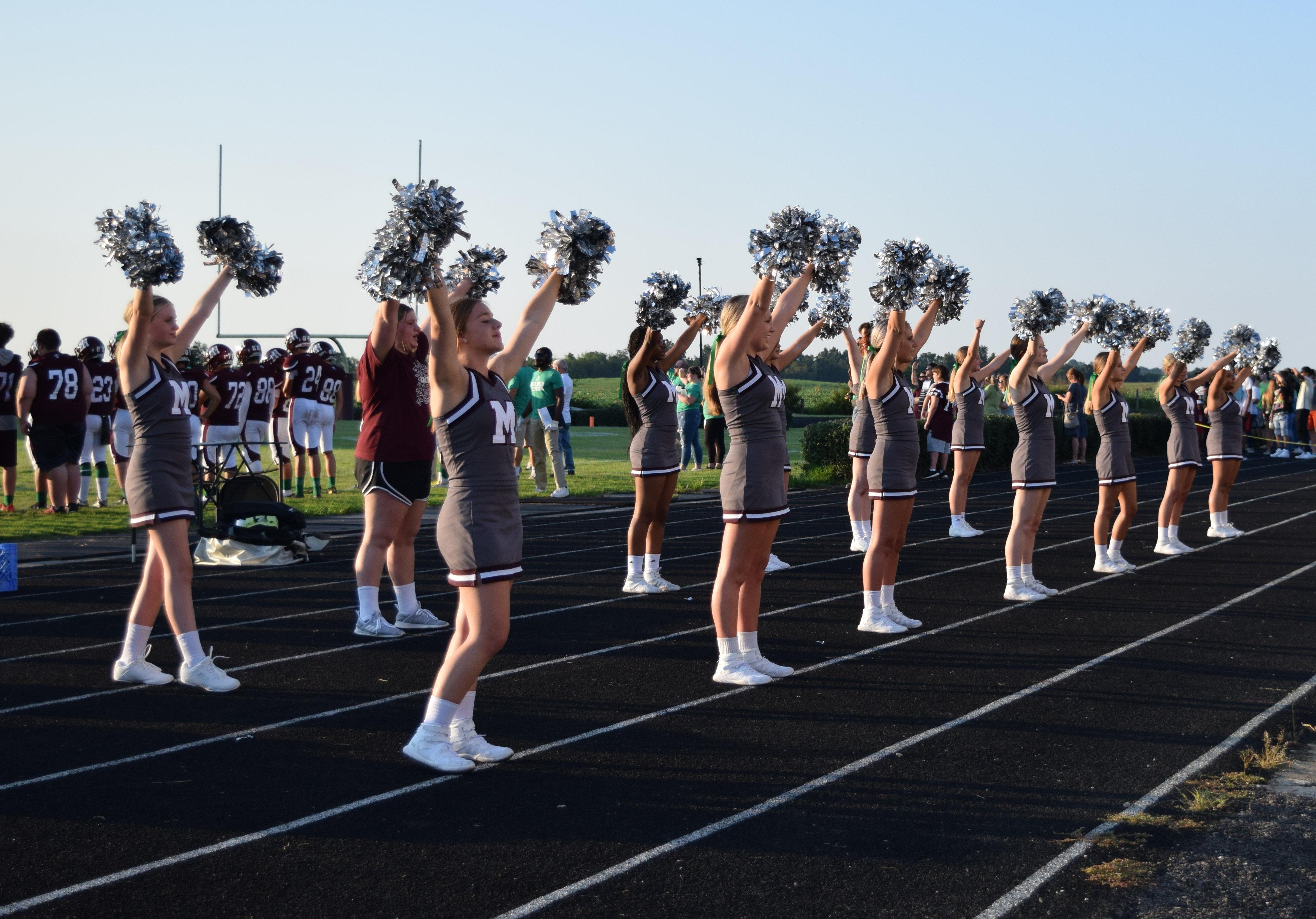 MCHS Cheerleaders