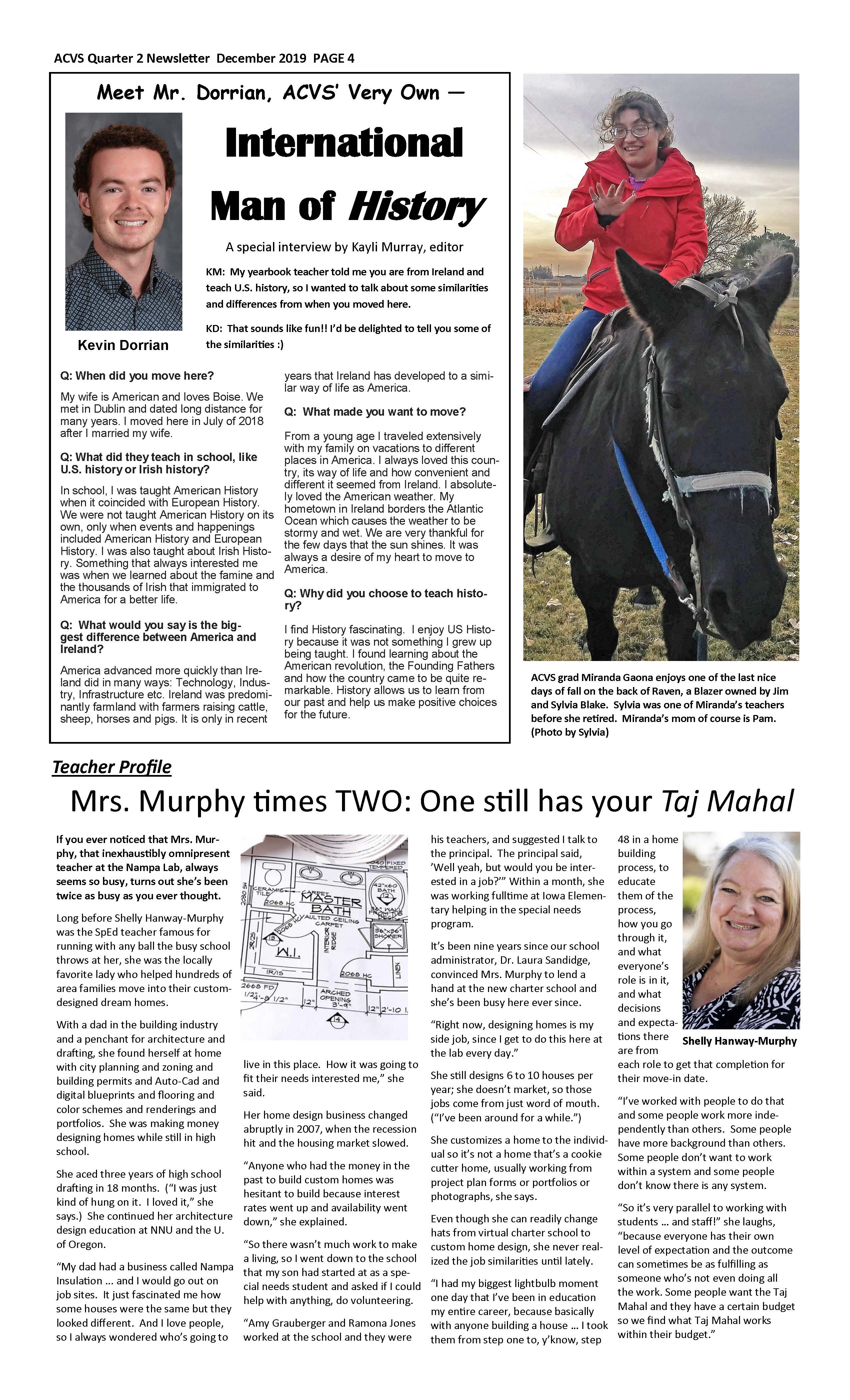 ACVS News Letter Page 4