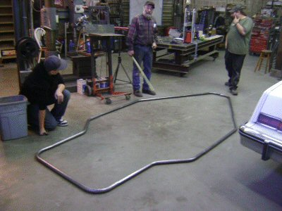 upper hoop for the roll cage