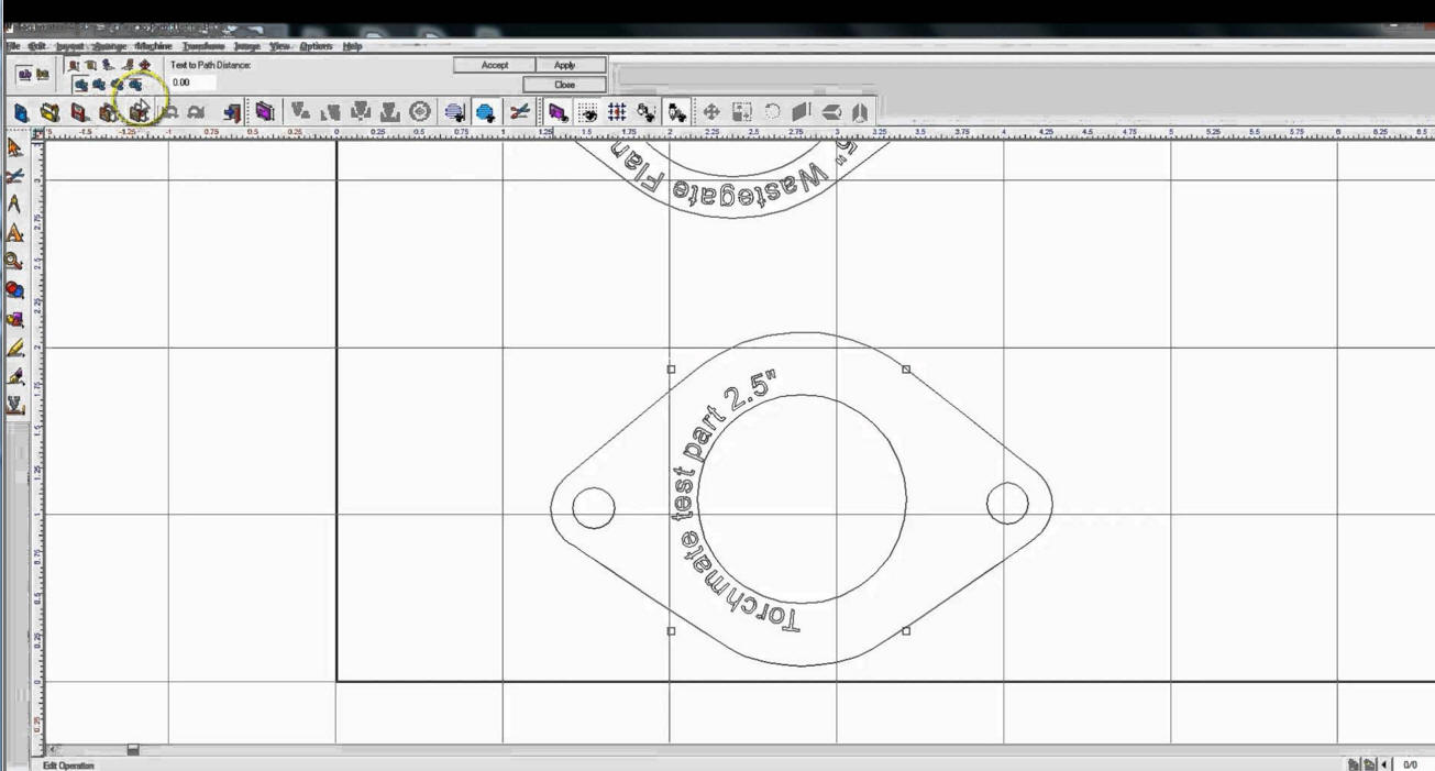 We use Torchmate CAD8 for Plasma CNC steel projects