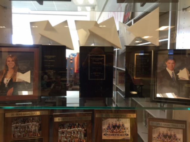 picture of a trophy case