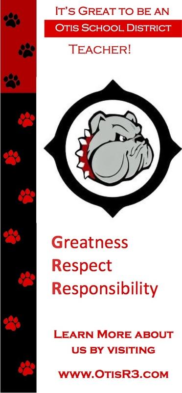 Otis school banner