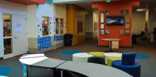empty school building