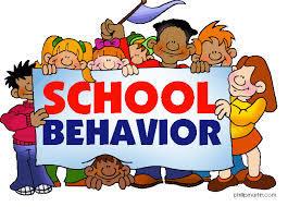 school behavior graphic