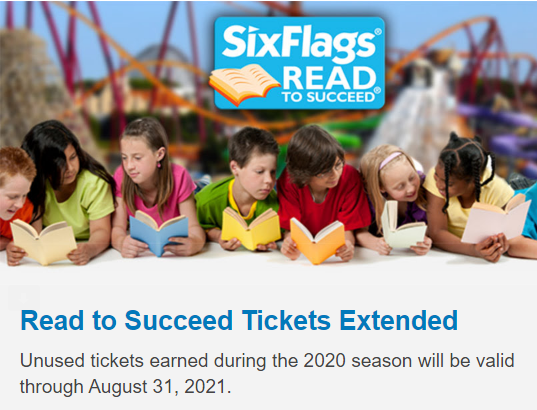 read for success tickets