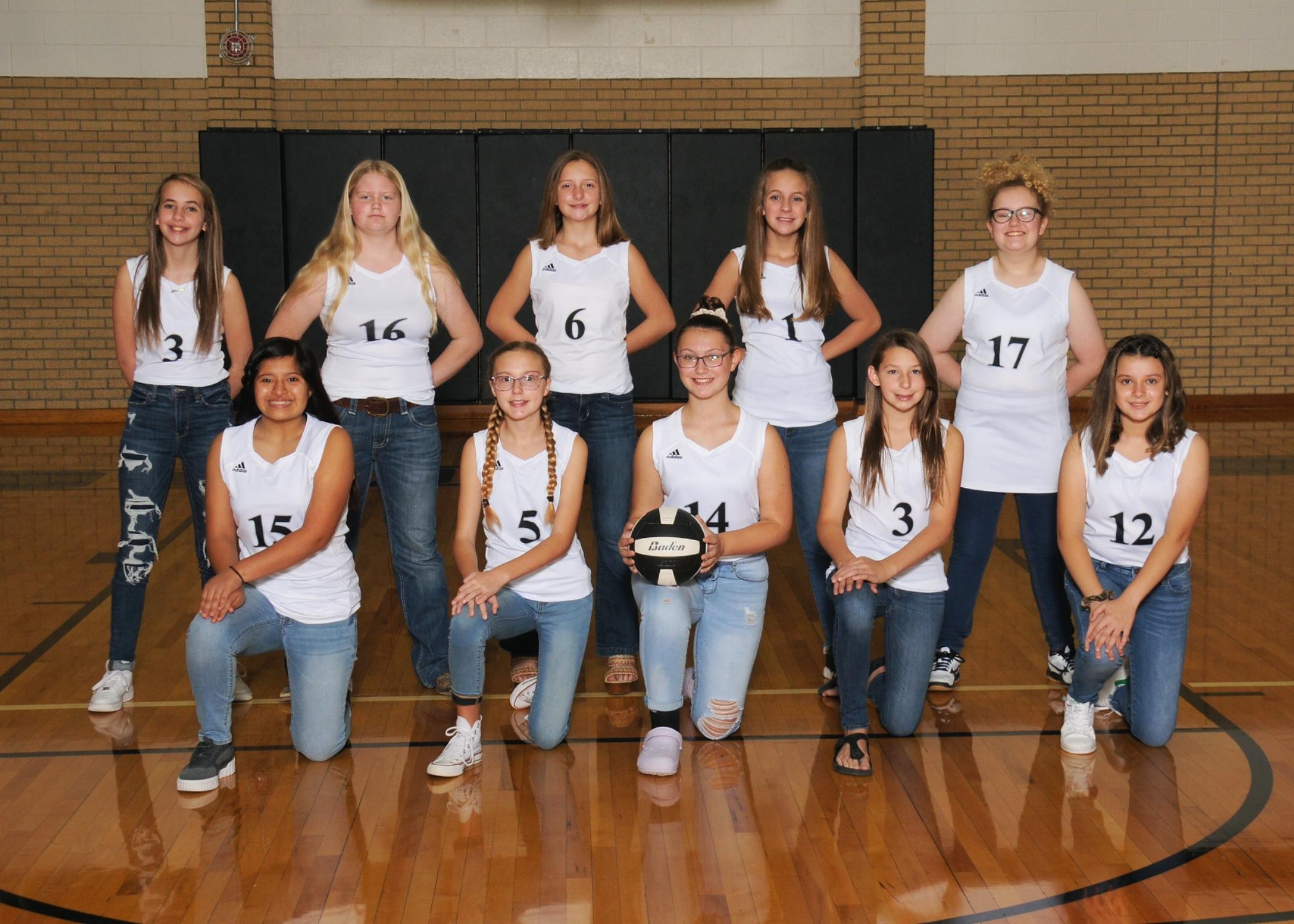 7th Grade Volleyball B Team