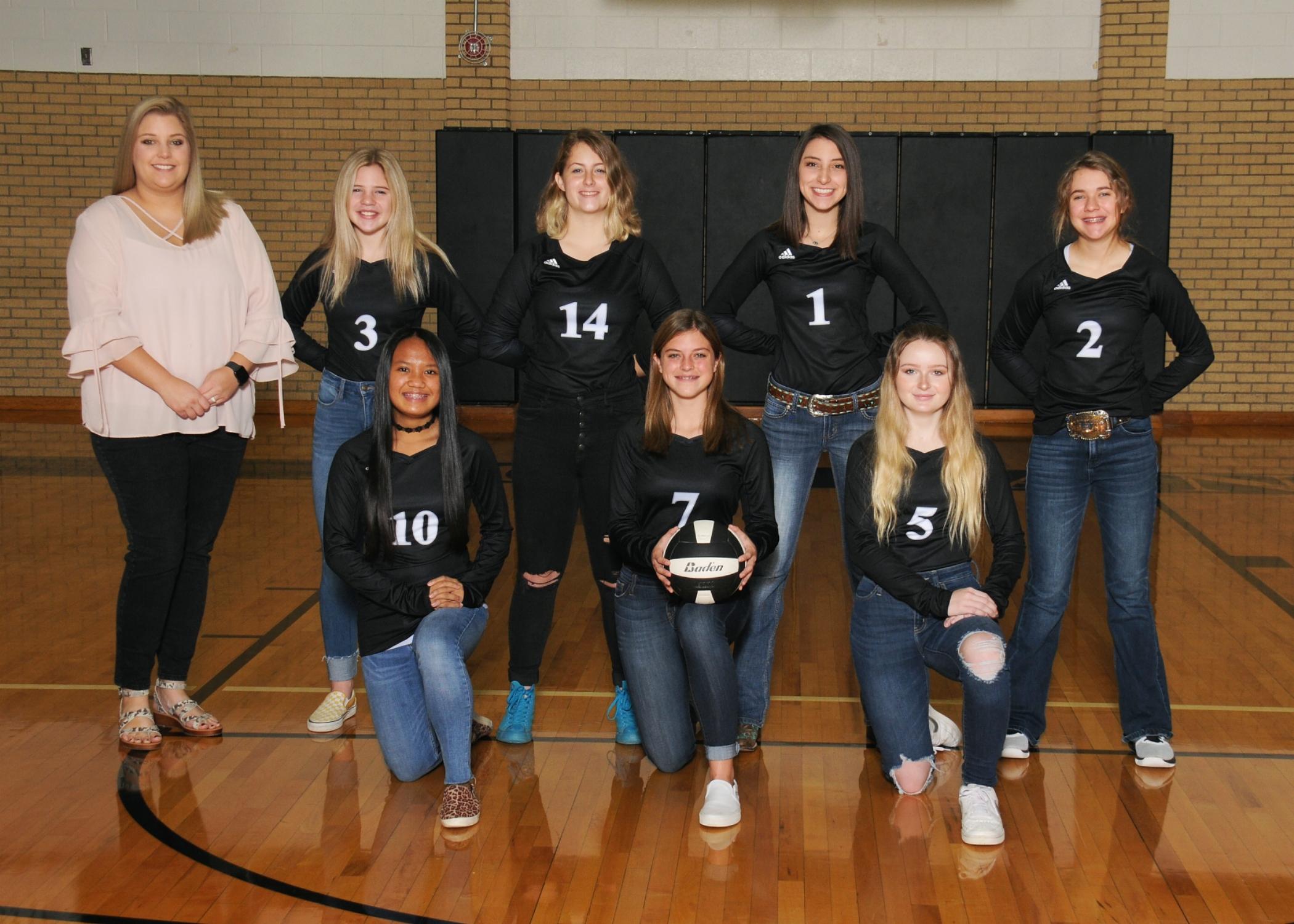 8th Grade Volleyball A Team