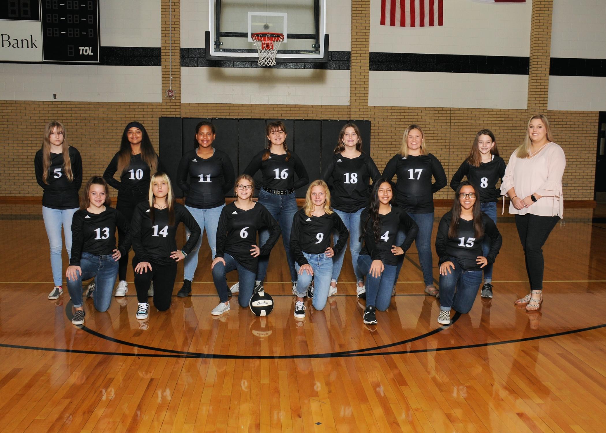 8th Grade Volleyball B Team