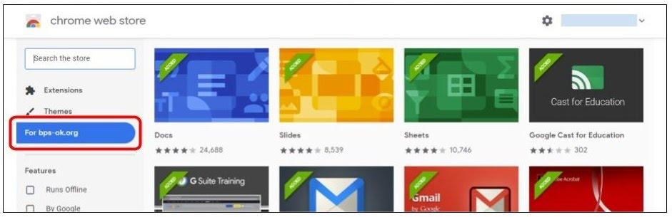 Chrome Web Store for bps-ok.org