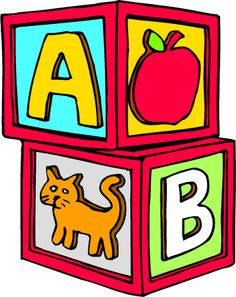 photo of alphabet blocks clipart