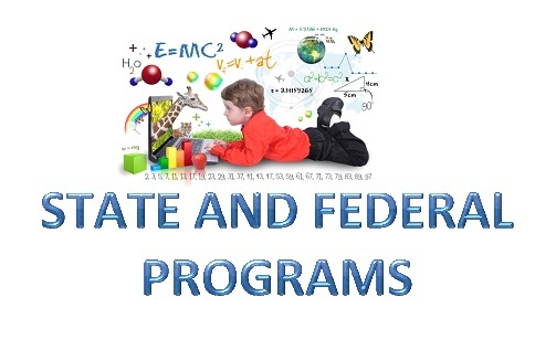state and federal programs clipart