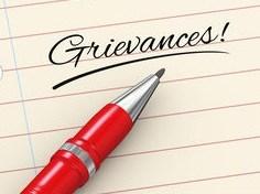 grievances clipart