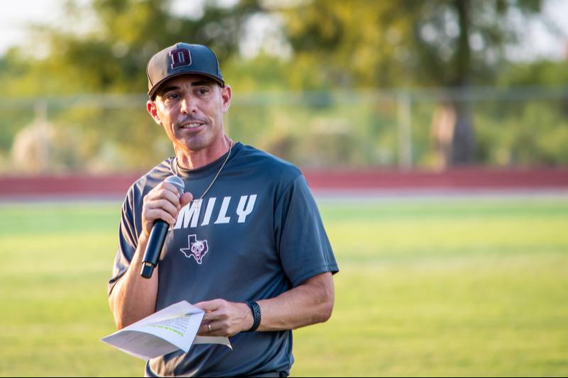 photo of Coach Lamar Rodriguez Athletic Director