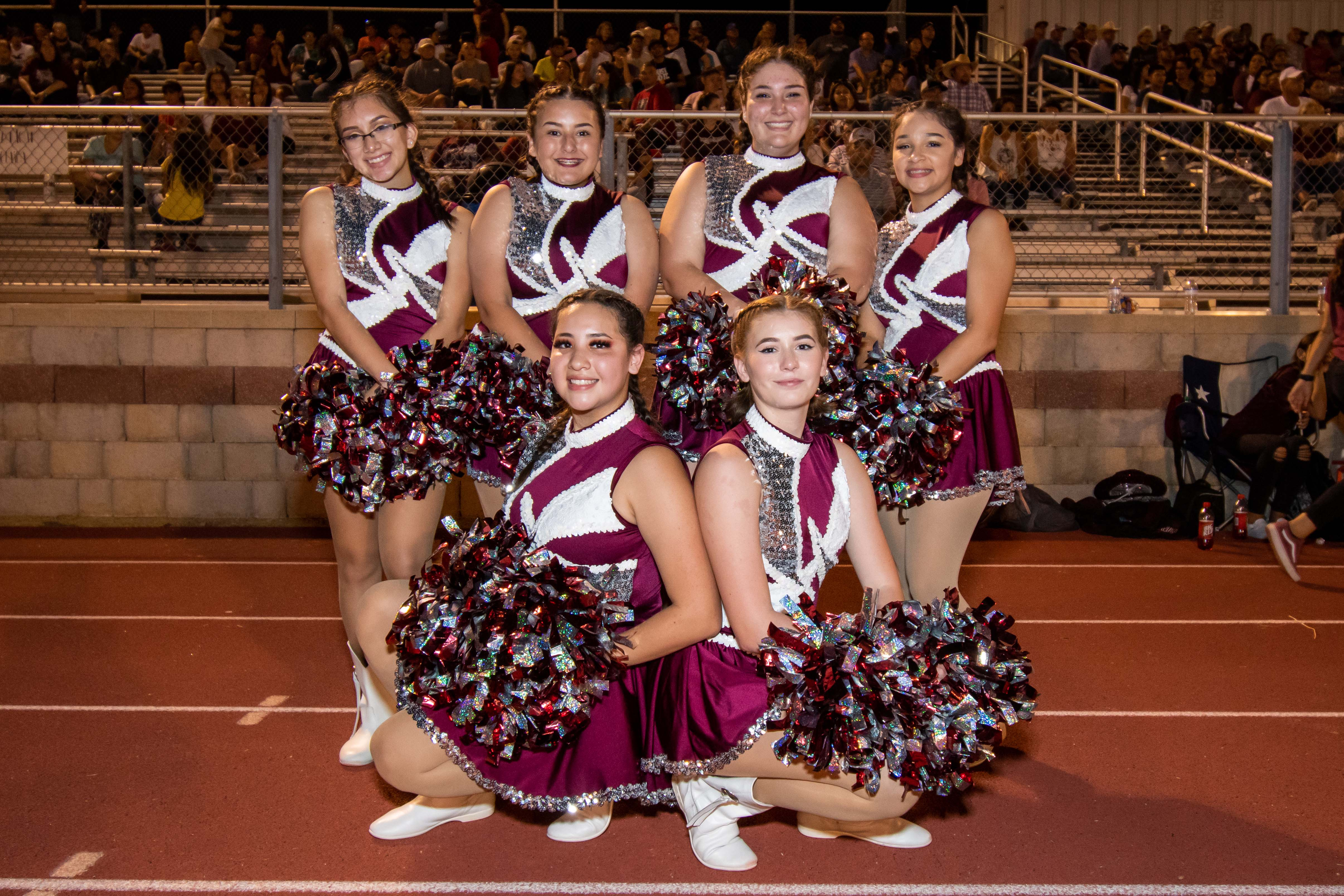 photo of the dance team