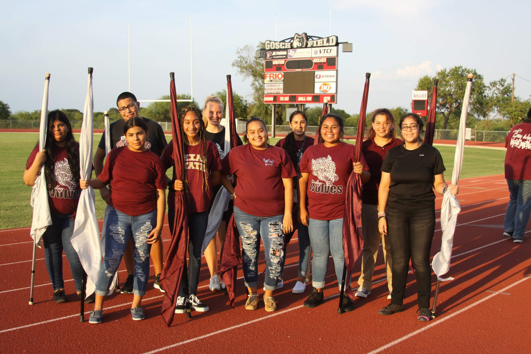 photo of color guard